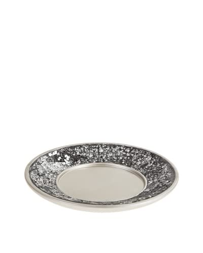 Creative Scents Brushed Nickel Soap Tray, Silver