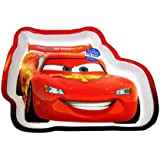 Lightning McQueen Shaped Dinner Plate - Kids Dinnerware