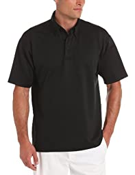 Propper Men's I.C.E. Men's Short Sleeve Performance Polo Shirt, Black, Large Regular