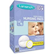 Lansinoh 20265 Disposable Nursing Pads Mega Size Package, Pack Of 8 (60 Each)