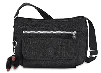 Kipling Syro Shoulder Bag Black 54