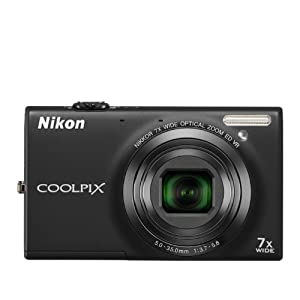 COOLPIX S6100 Black