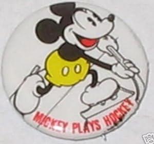"""Amazon.com: Mickey Mouse """"Mickey Plays Hockey"""" Pin 1 ..."""