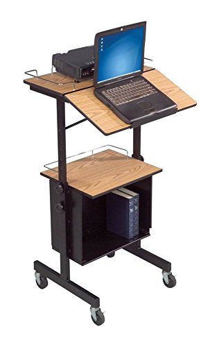 balt diversity stand av cart or mobile stand up workstation or mobile lectern you decide - Av Cart