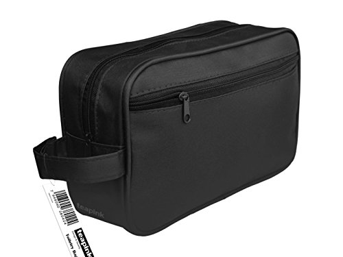 toiletry-bag-travel-overnight-wash-gym-shaving-bag-for-mens-or-ladies-black