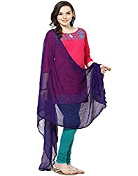 Castle Purple Chiffon Dupatta