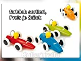 BRIO 30077 Wooden Toys: Racing Car (Assorted Colours, 1 car Supplied)