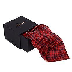 Chokore Men's Silk Pocket Square Plaids line