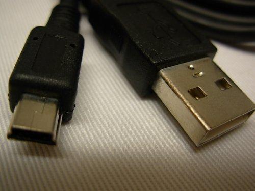 CB-USB4 Ersatz Kabel für Olympus Camedia C2, C50, C60, C120, C150, C160, C220, C300, C310, C350, C360, C370, C450, C470, C510, C720, C730, C740, C750, C755, C760, C770, C8080, C-5050 Zoom, IR-300 IR-500 MJU 10 MJU 15 MJU 20 MJU 25 MJU 30 Digital Foto