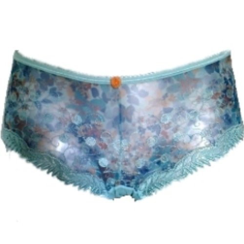 Sale alerts for KEIA KEIA Melodie Green Blue Floral Shorty Boyshorts-Green-12 - Covvet