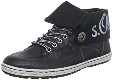 s.Oliver Casual 5-5-25124-31, Damen Sneaker, Schwarz (BLACK 001), EU 38