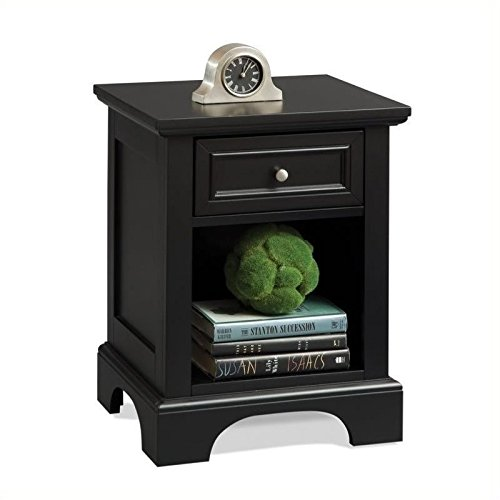 Home Styles 5531-42 Bedford Night Stand, Black Finish