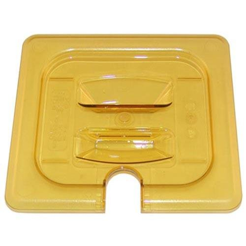 Cambro CAMBRO 60HPCHN Lid Pan 1/6 Size W/Handle Amber Polycarbonate For Oem 150 281542 60Hpchn