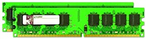 Kingston ValueRAM 4GB 533MHz DDR2 Non-ECC CL4 DIMM (Kit of 2) Desktop Memory