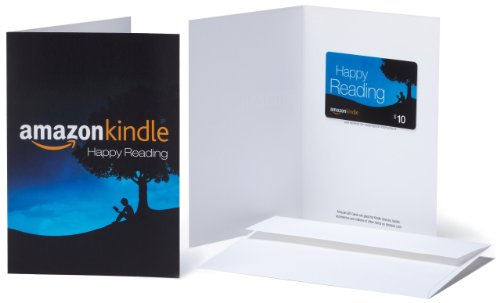 Amazon.com Gift Card with Greeting Card - $10 (Kindle)