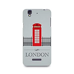 Ebby London Phone Booth Premium Printed Case For Micromax YU Yureka A05510