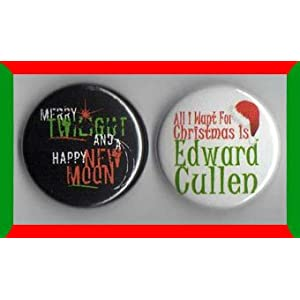 Twilight Christmas Set of 2 - 1 Inch Magnets