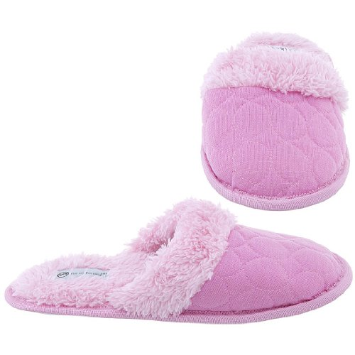 Cheap Harve Benard Pink Slip On Slippers for Women (B006CVSE2C)