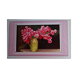 3D Diamond Painting Round Diamond Azalea DIY Diamond Paste Diamond Stitch