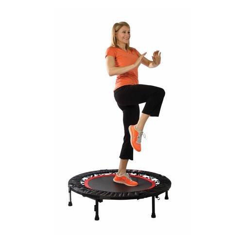 Fitness Trampoline Dvd: Urban Rebounder Trampoline With Workout DVD & Stabilizing