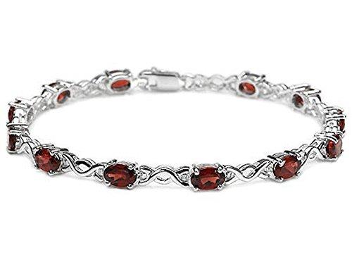 925ctw-genuine-garnet-oval-solid-925-sterling-silver-bracelet-for-women-and-girls