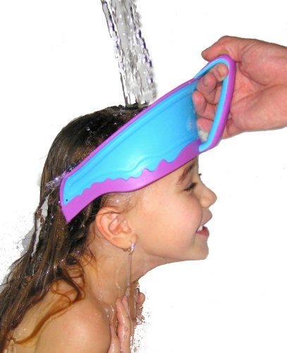 Lil Rinser Splashguard In Blue And Pink front-387918