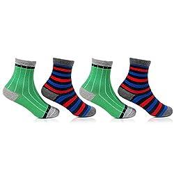 Bonjour Kids Fancy Socks Pack Of 4 Pairs_BRO7003-02-PO4