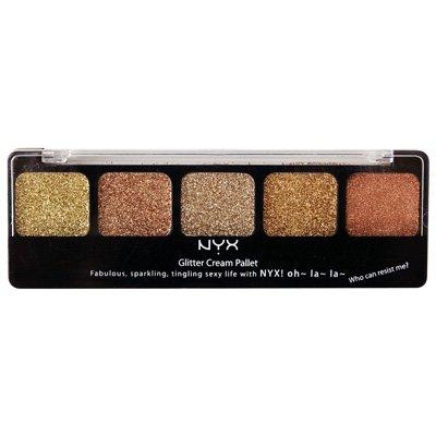 NYX Cosmetics Glitter Cream Pallet Bronze Goddess