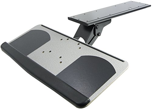 VIVO Adjustable Computer Keyboard & Mouse Platform Tray