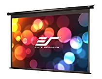 Elite Screens VMAX2, 106-inch 16:9, Wall Ceiling Electric Motorized Drop Down HD Projection Projector Screen, VMAX106UWH2