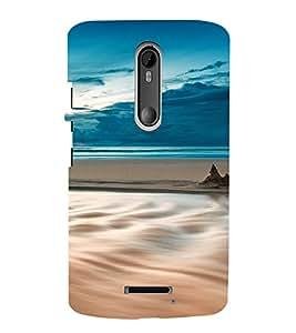 PrintVisa Travel Beach Art Design 3D Hard Polycarbonate Designer Back Case Cover for Motorola Moto X3