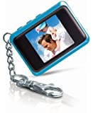 Coby 1.5-Inch Digital Photo Key Chain (Blue)