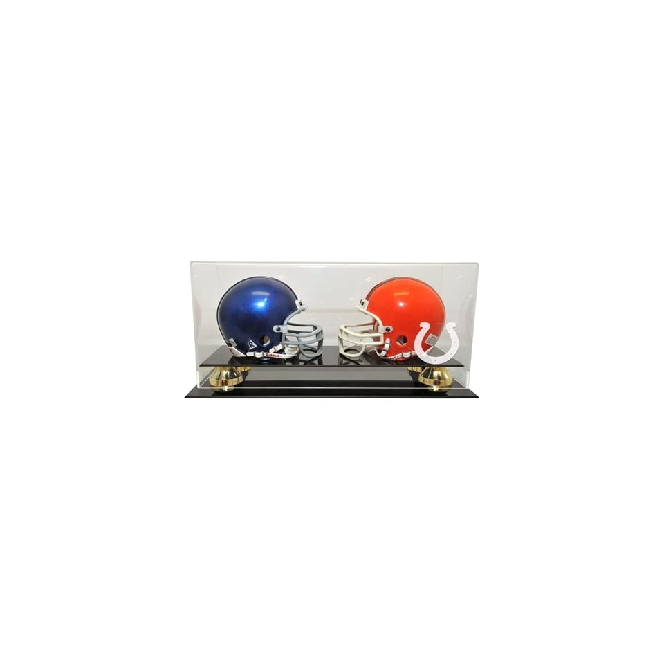 Indianapolis Colts Double Mini Helmet Display Case with