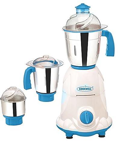 Cookwell Bravo 550W Mixer Grinder (3 Jars)