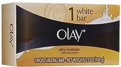 Ultra Moisture White Bar - Moisturizing Soap 3.5 oz (Olay)