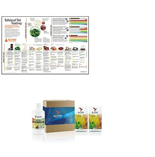 Bulletproof Upgraded Decaf Coffee Starter Kit and Poster Set by BulletProof (Bulletproof Coffee Set compare prices)