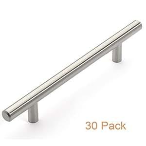 Probrico t bar cabinet pulls stainless steel kitchen - Amazon kitchen cabinet pulls ...