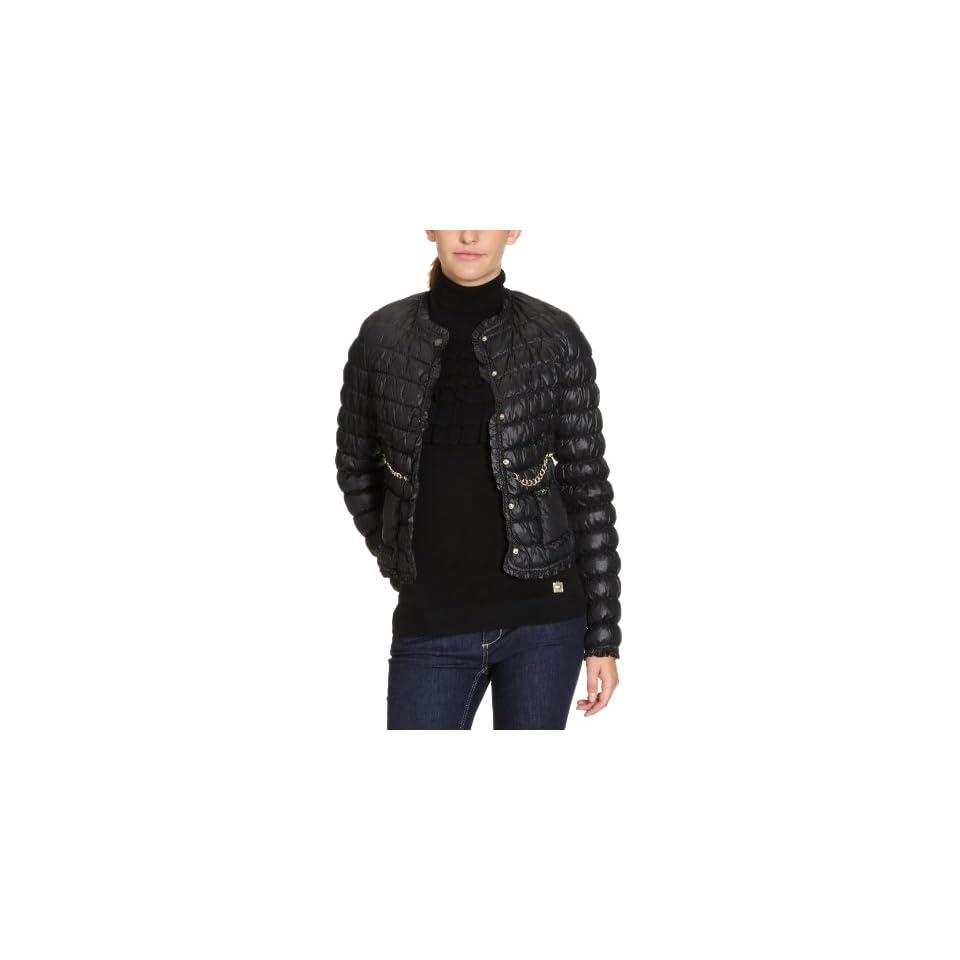 Liu Jo Damen Jacke W61110 T6032, Gr. 38 (44), Schwarz (Black