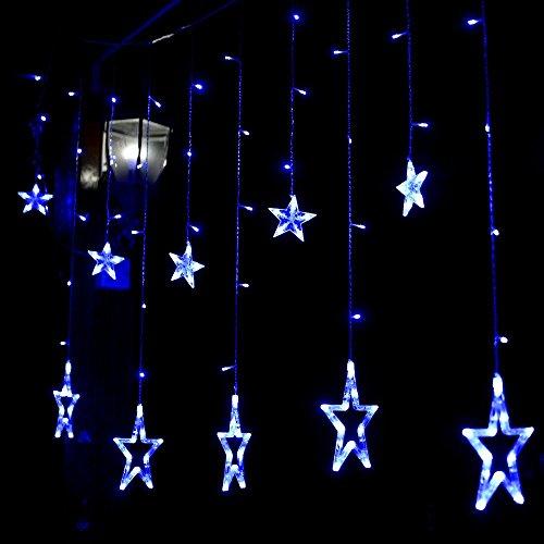 likar-led-stern-vorhang-schnur-licht-2m-138-led-wasserdichtes-weihnachtslicht-blau