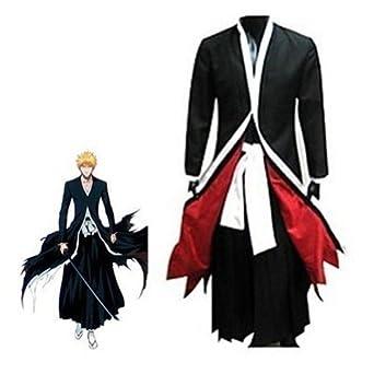 Bleach Ichigo Bankai costume set (x-Small, Black)
