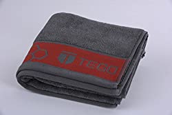 TEGO Antimicrobial Sports Towel - Cool Grey Red