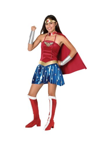 Justice League Teen Wonder Woman Costume,