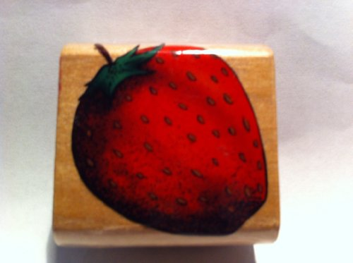 Strawberry Rubber Stamp - 1