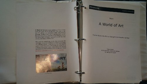 A World of Art Custom Edition For Prince George's Community College Art 1010