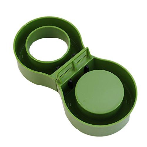Julyshop 1 Pair Portable Home Office Plastic Universal Magnetic Umbrella Stand Set Rack (Green)