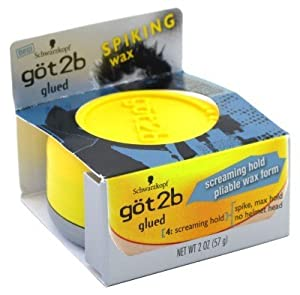 Got2b Glued Spiking Wax, 2 Ounce