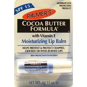 Palmers Cocoa Butter Lip Balm 0.15 oz SPF 15 (3 pack)