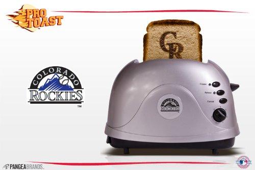 Mlb Colorado Rockies Protoast Team Logo Toaster front-49866