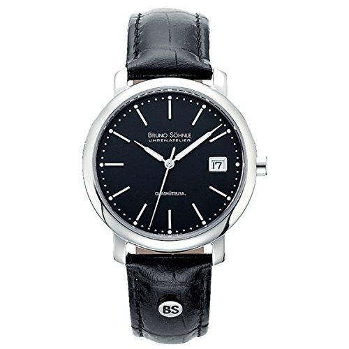 Herren-Armbanduhr Momento Analog Quarz Leder 17-13016-741