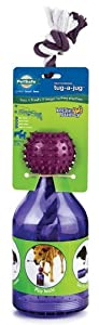 PetSafe Busy Buddy Tug-A-Jug Meal Dispensing Dog Toy, Medium/Large